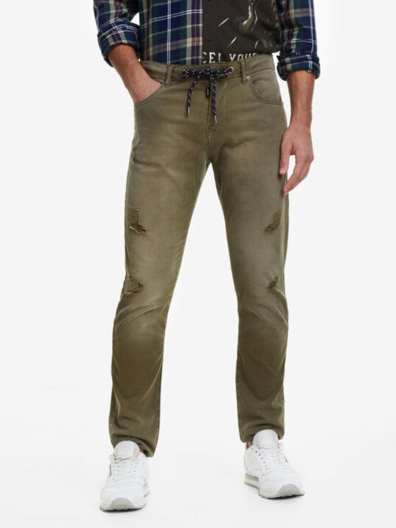 Штани кольору хакі | 5162932