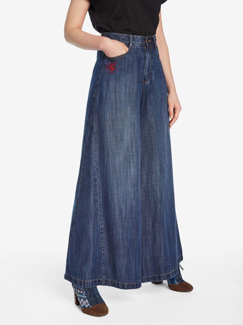 Штани сині джинсові   5162952