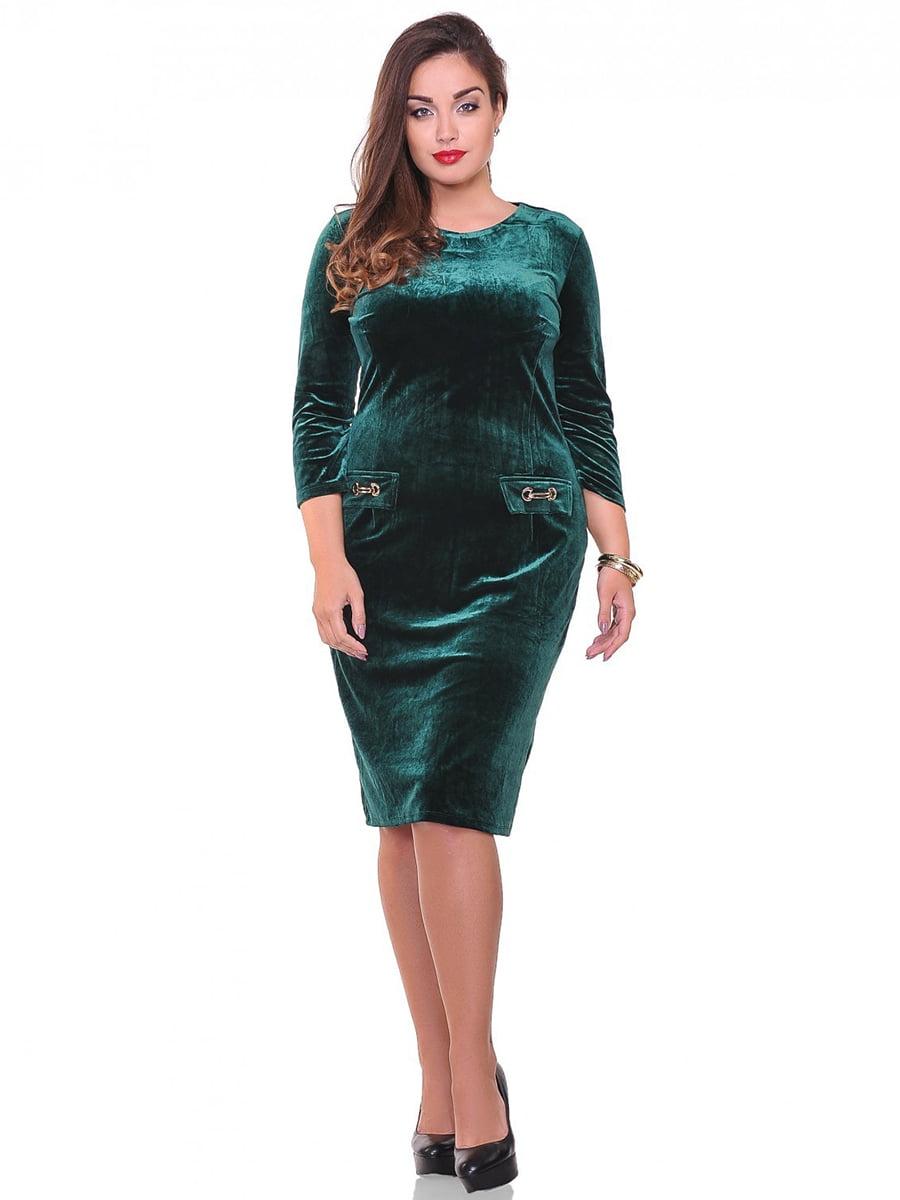 Платье зеленое   3747031
