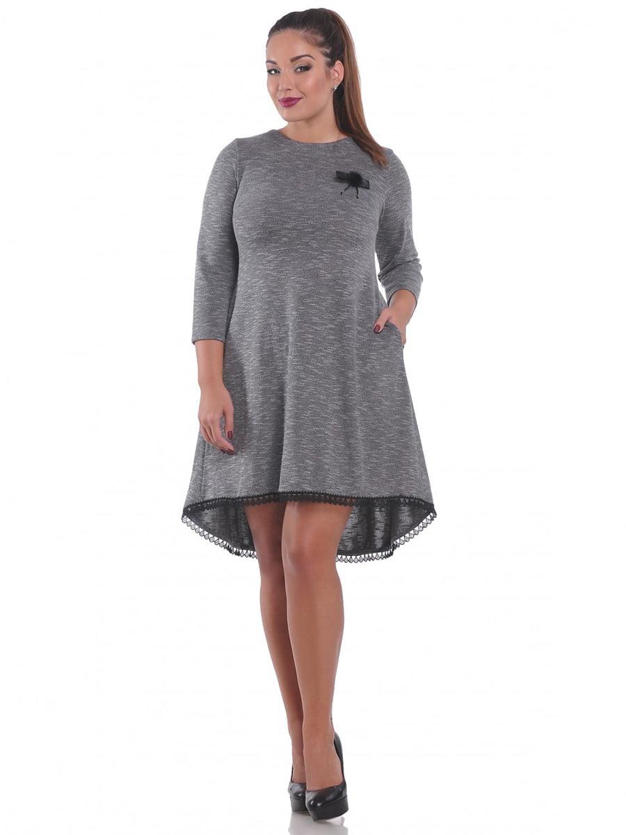 Платье серое | 3747051