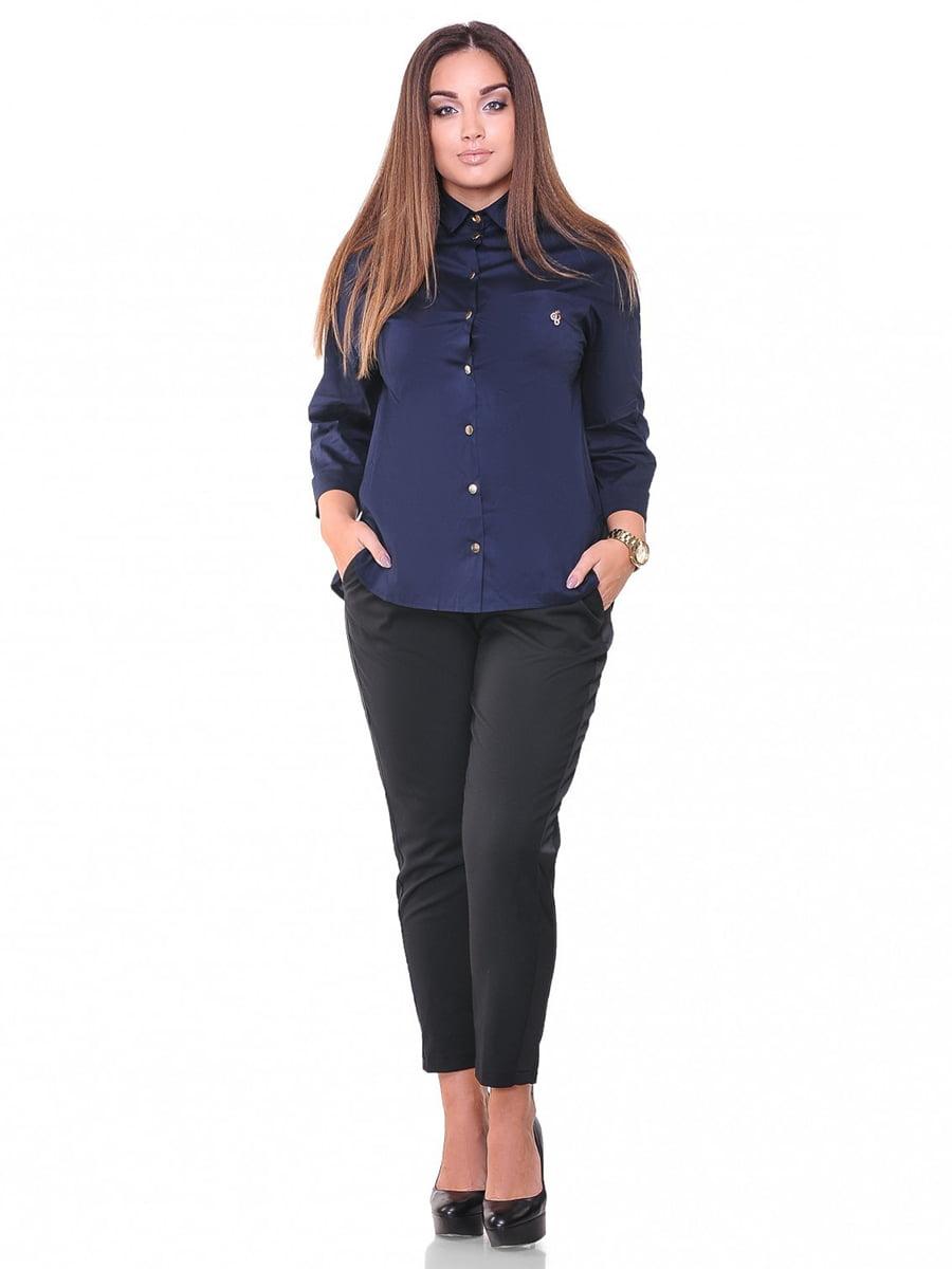 Рубашка синяя | 3747136