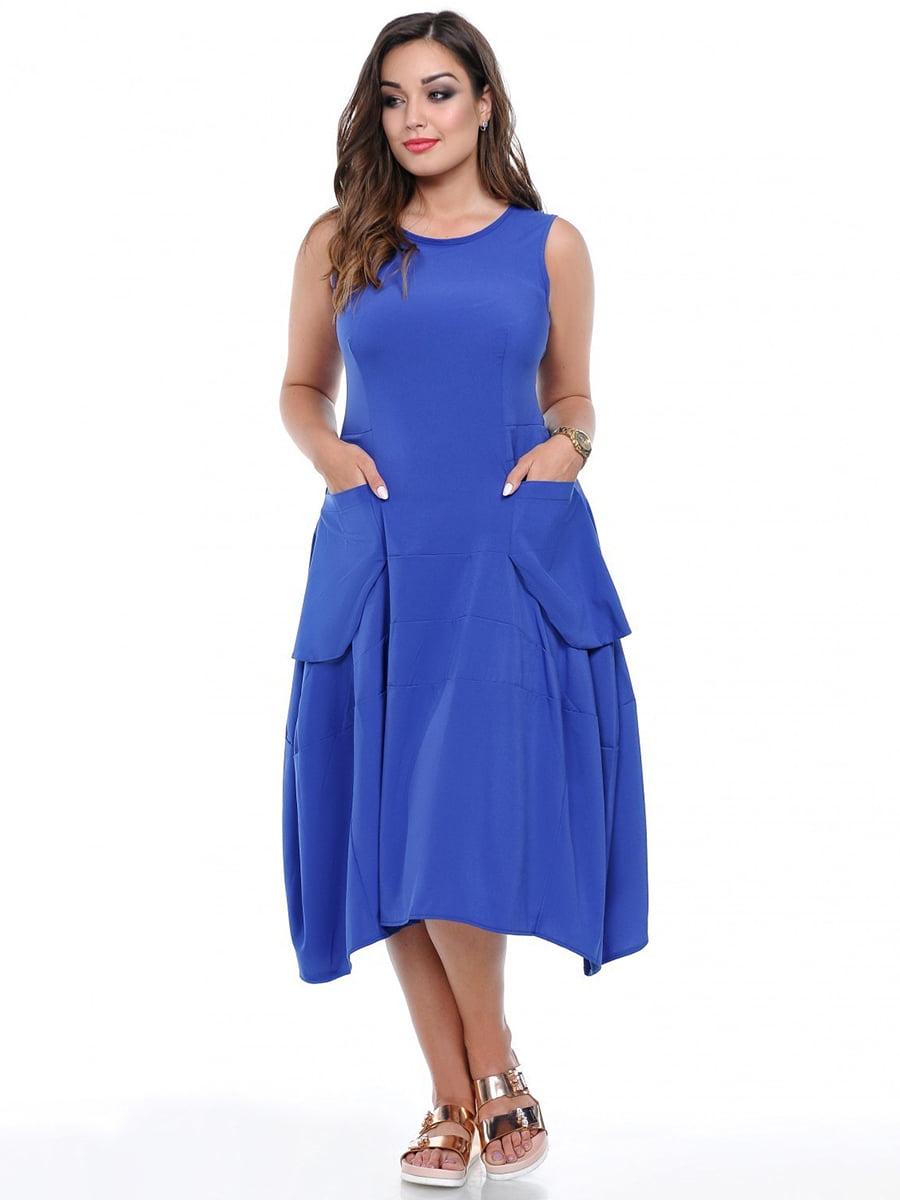 Платье цвета электрик | 3802396