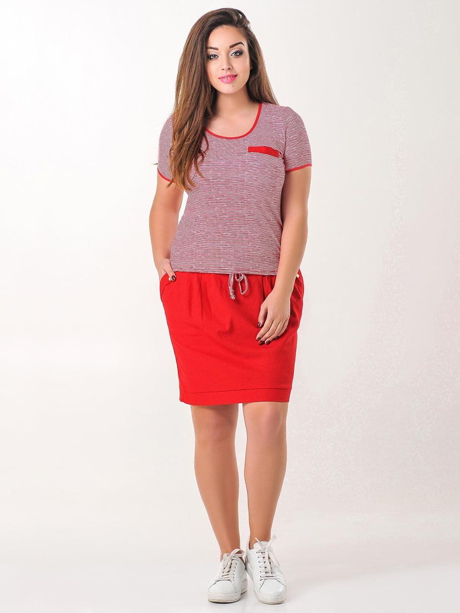 Комплект: футболка и юбка | 4238954