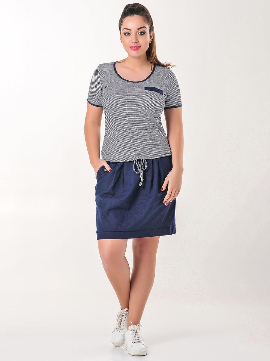 Комплект: футболка и юбка | 4238955