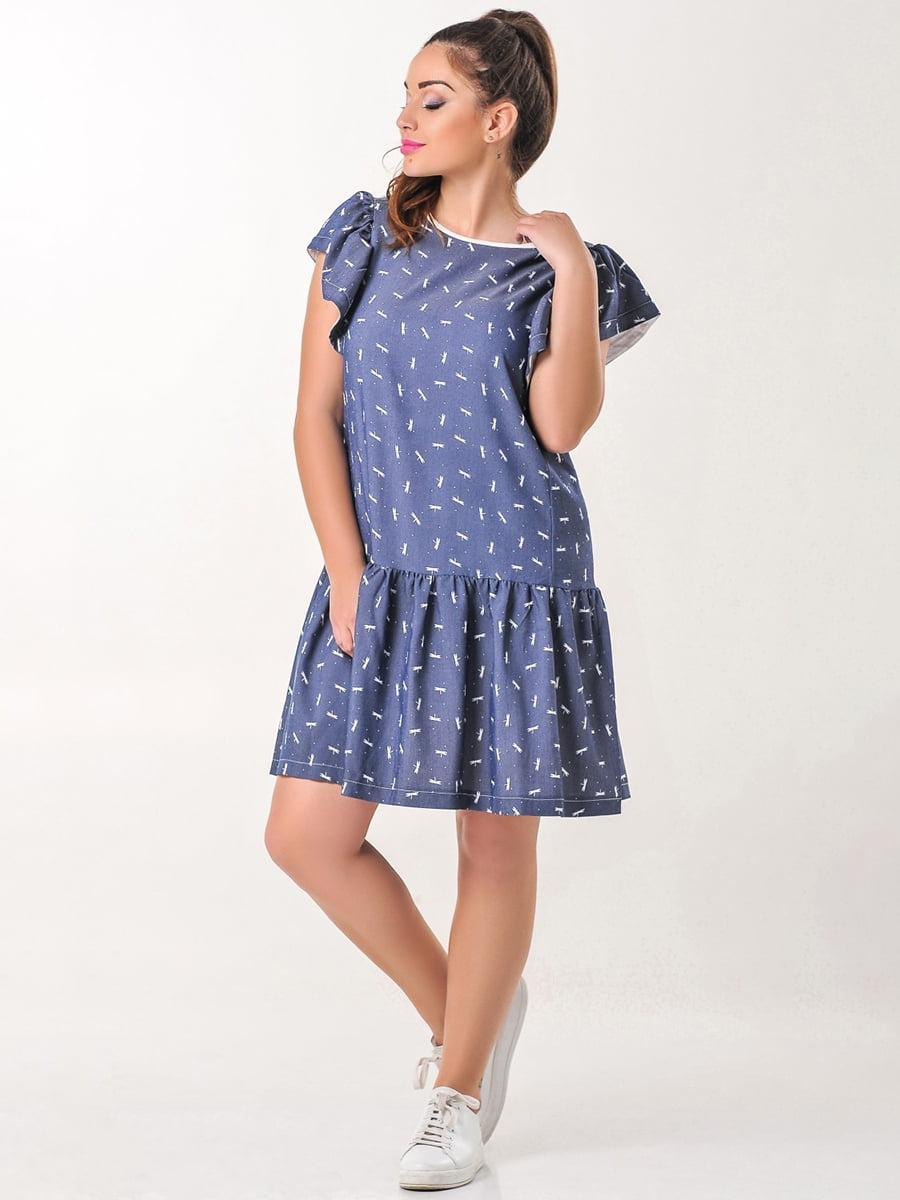 Платье с принтом | 4238972
