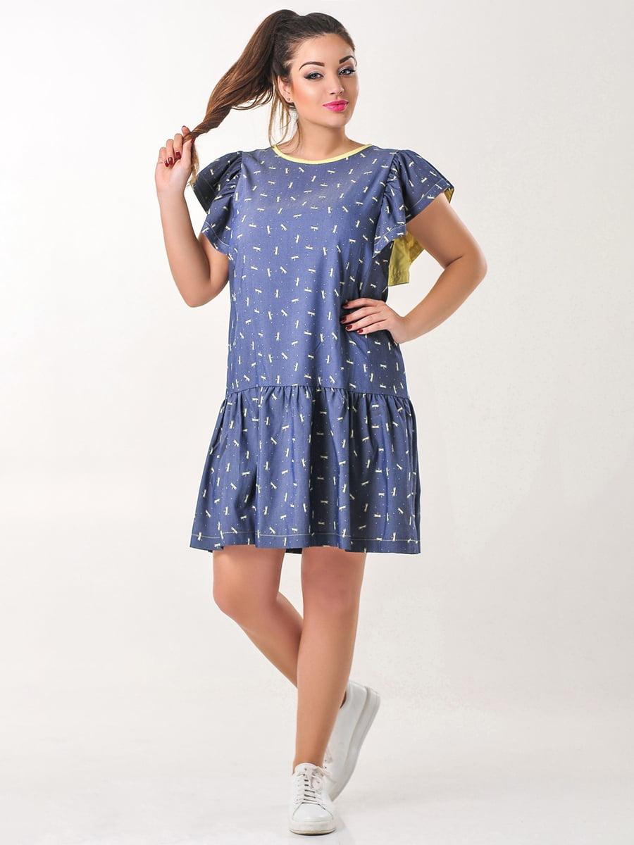 Платье с принтом   4238973