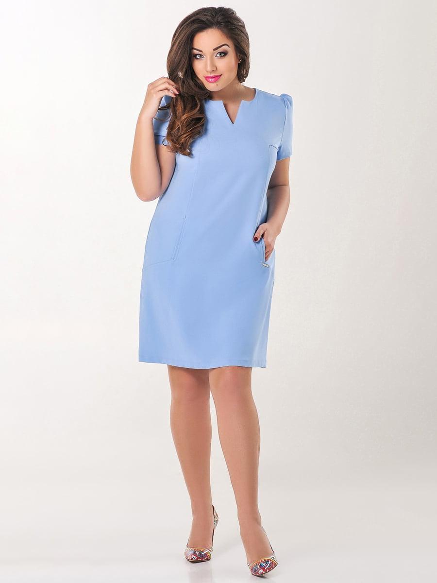 Платье голубое | 4308134