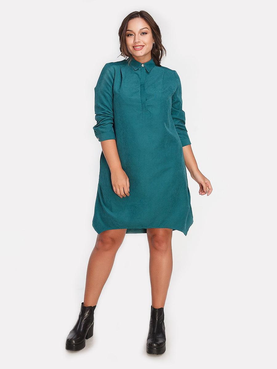Платье темно-зеленое | 4613333
