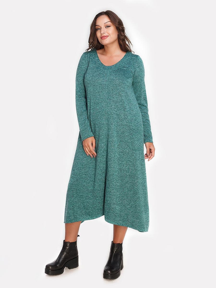 Платье изумрудного цвета   4613340