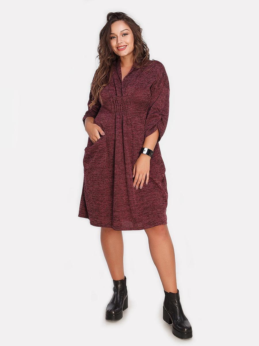 Платье цвета марсала | 4613346
