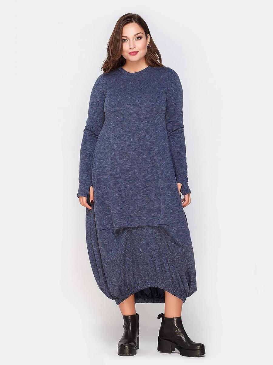 Платье синее | 4665195