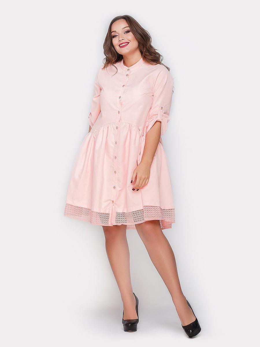 Платье розовое | 4665212