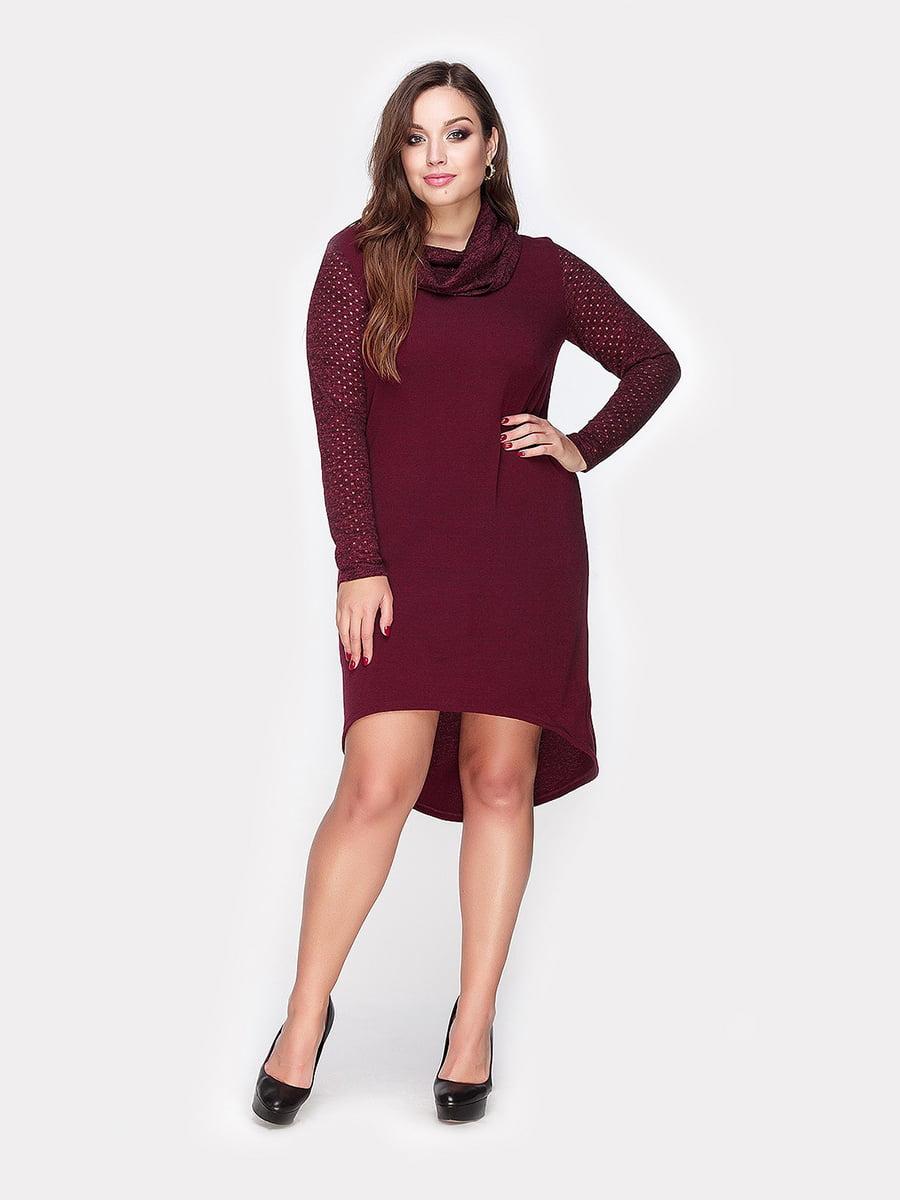 Платье цвета марсала | 4795046