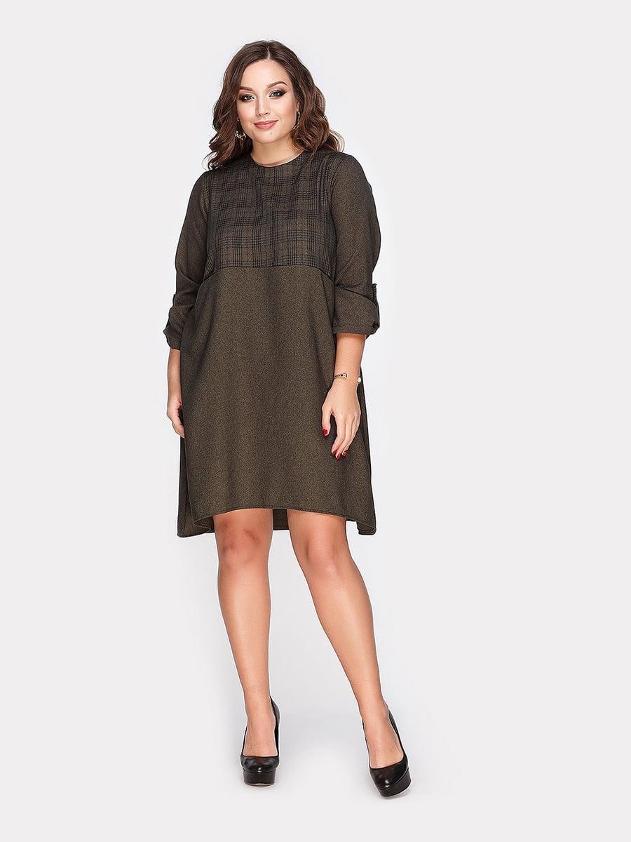 Платье оливкового цвета | 4795061