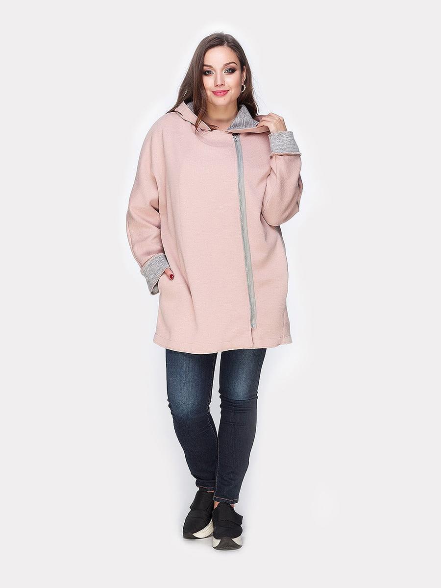 Пальто розовое | 4812796