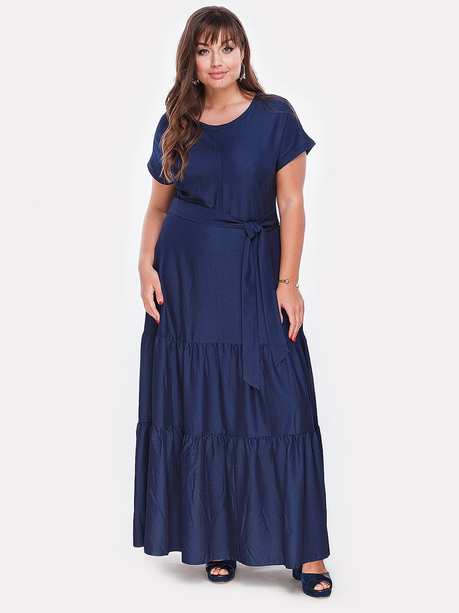 Платье синее | 4951035