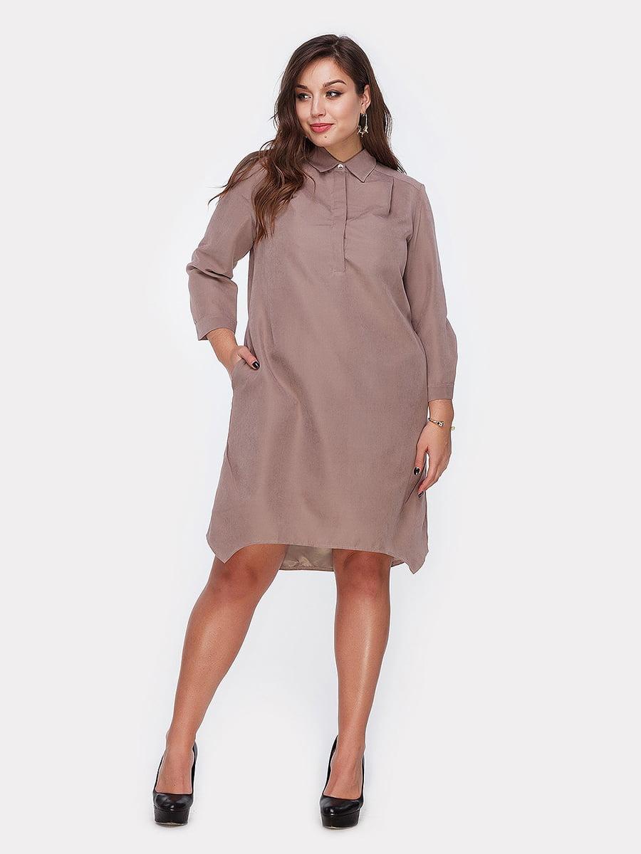 Платье цвета капучино | 4951038