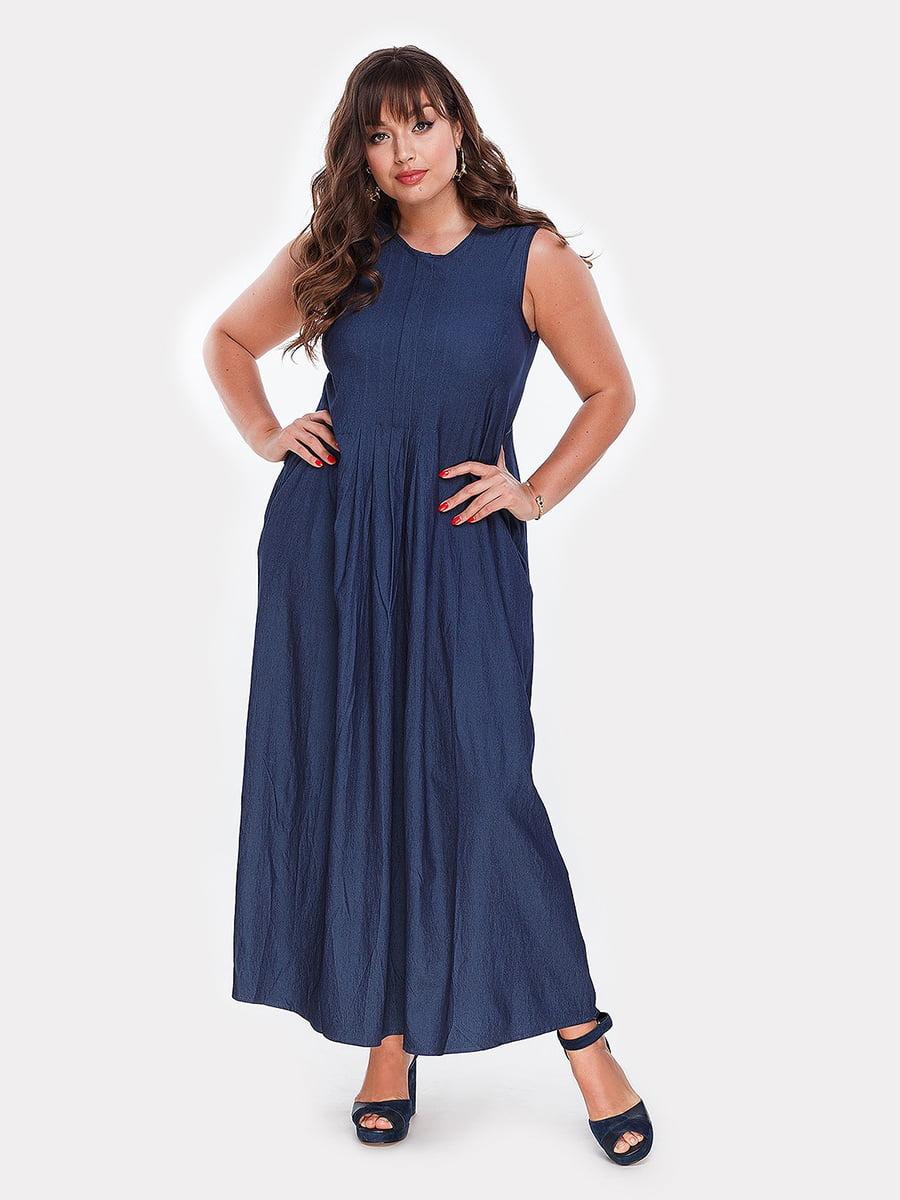 Платье синее | 4977630