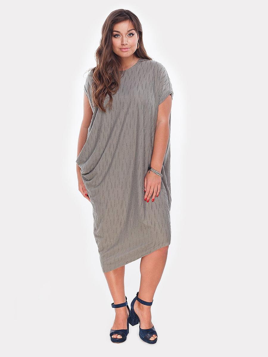 Платье оливкового цвета | 4977639