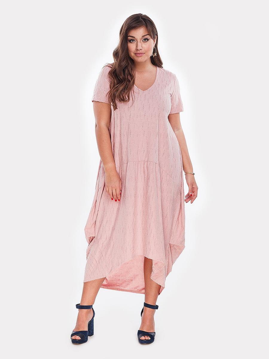 Платье розовое | 4977641