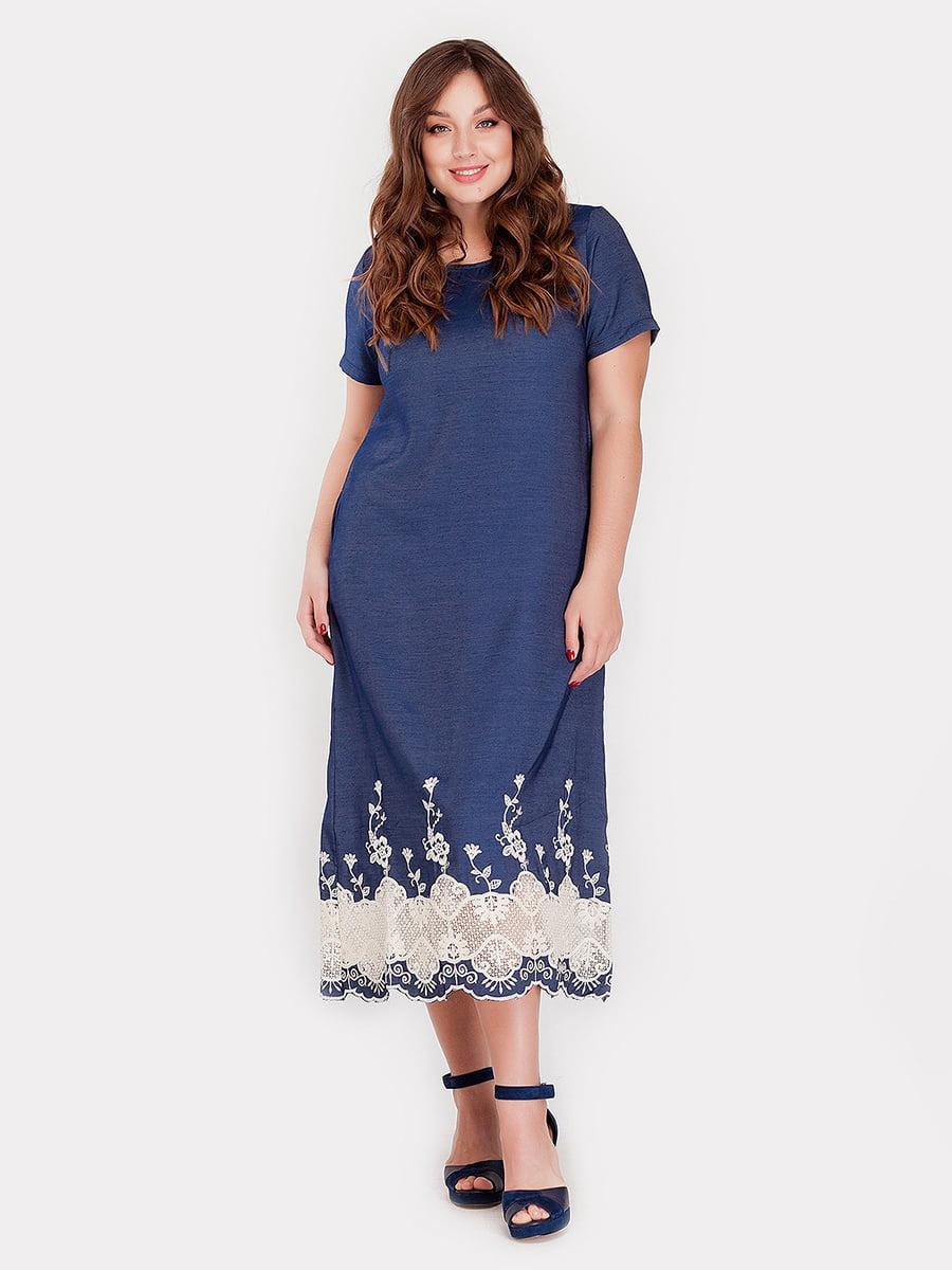 Платье синее   5082166