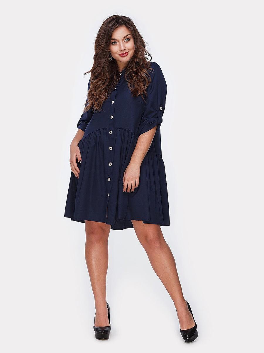 Платье синее   5082178