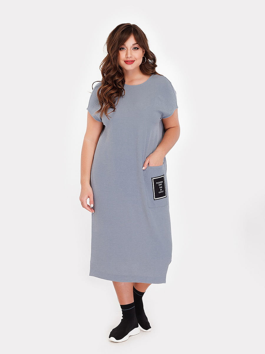 Платье серое   5105092