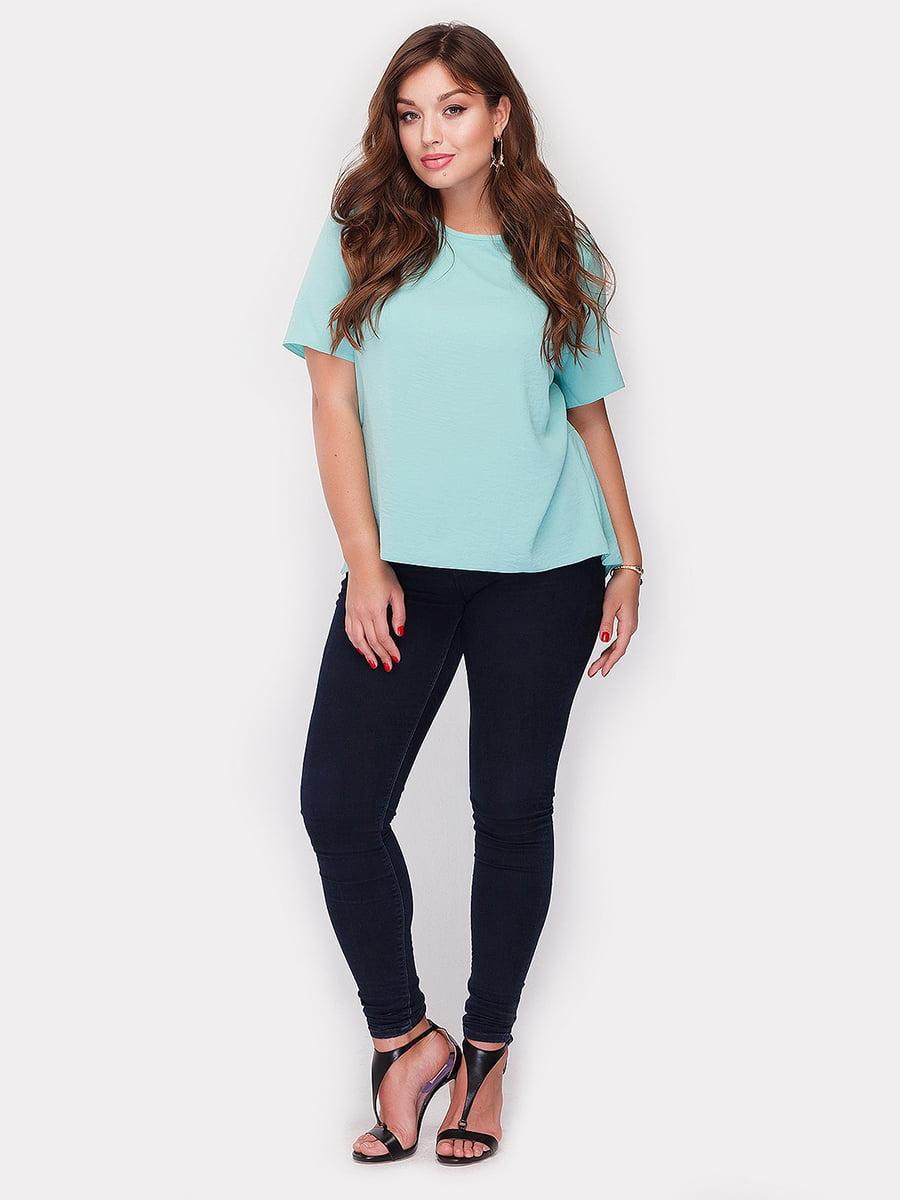 Блуза бирюзовая | 5105099