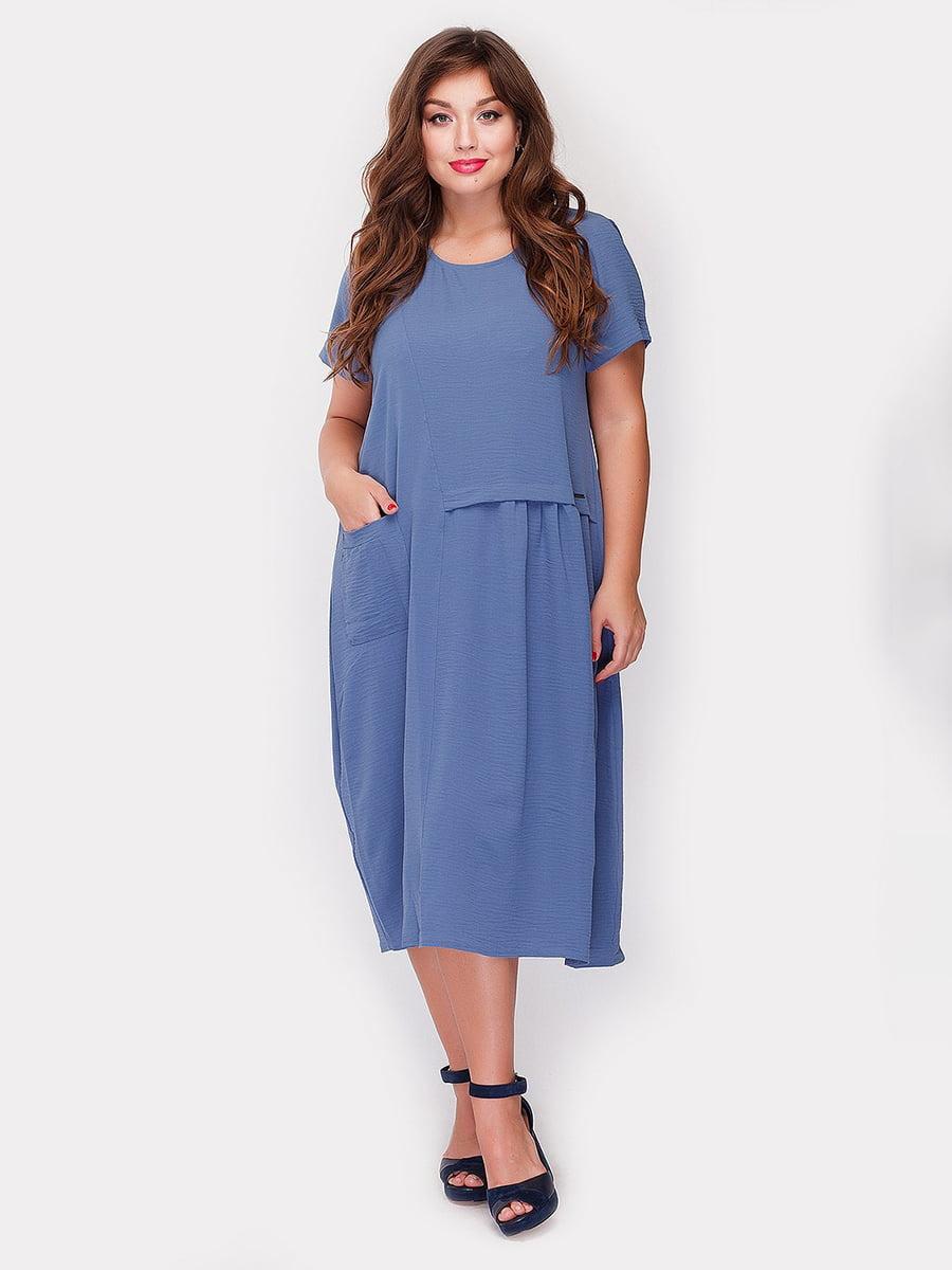 Платье голубое | 5105101