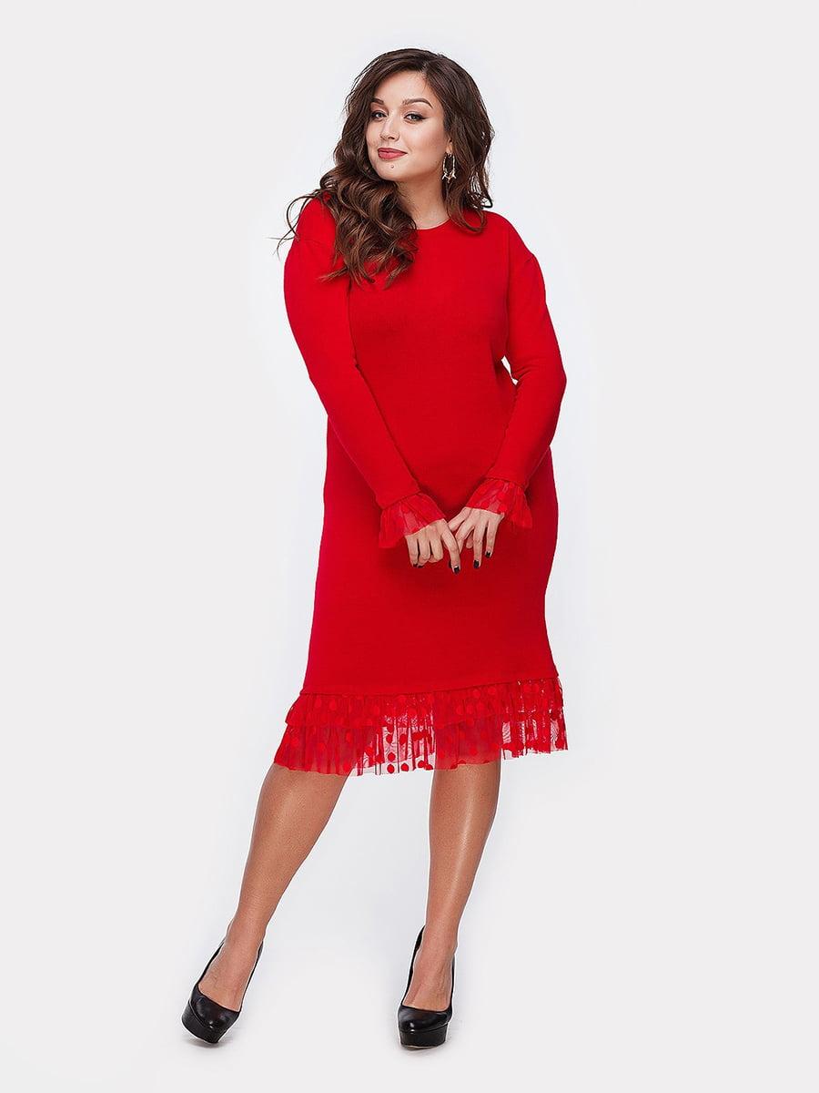 Платье красное | 5105124