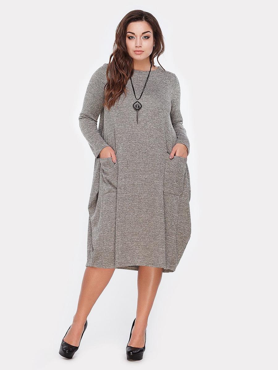 Платье оливкового цвета   5105137
