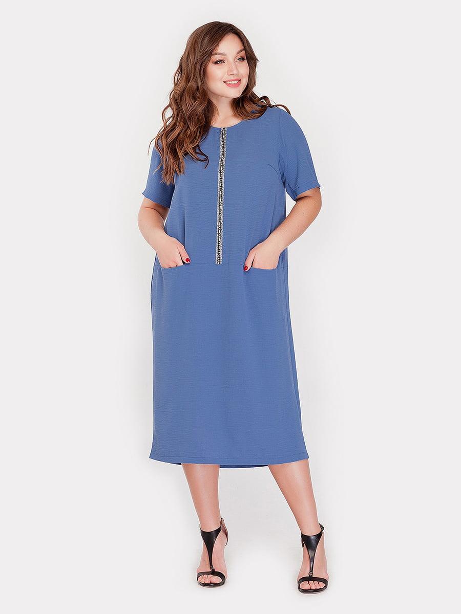 Платье джинсового цвета | 5115487