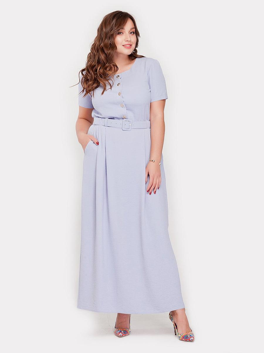 Платье голубое | 5115493
