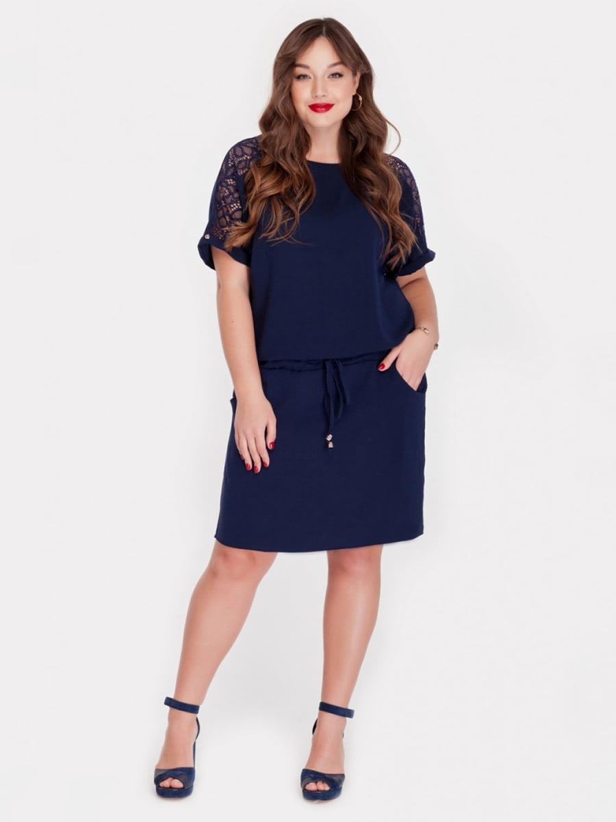 Платье синее   5115502