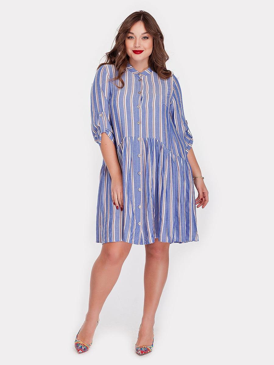 Платье голубое | 5115508