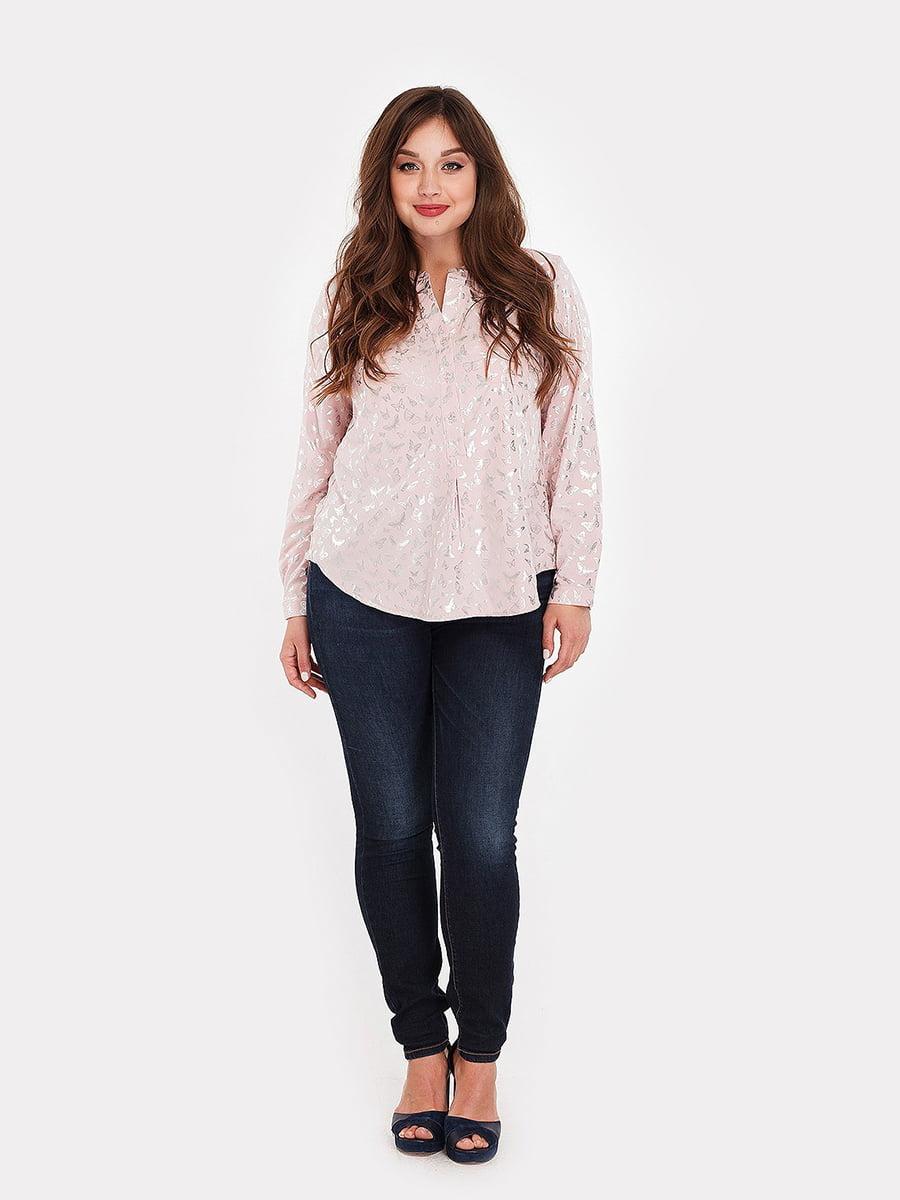 Блуза розовая | 5115509