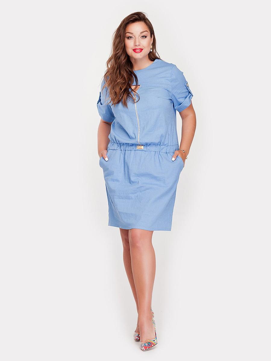 Платье голубое | 5117927