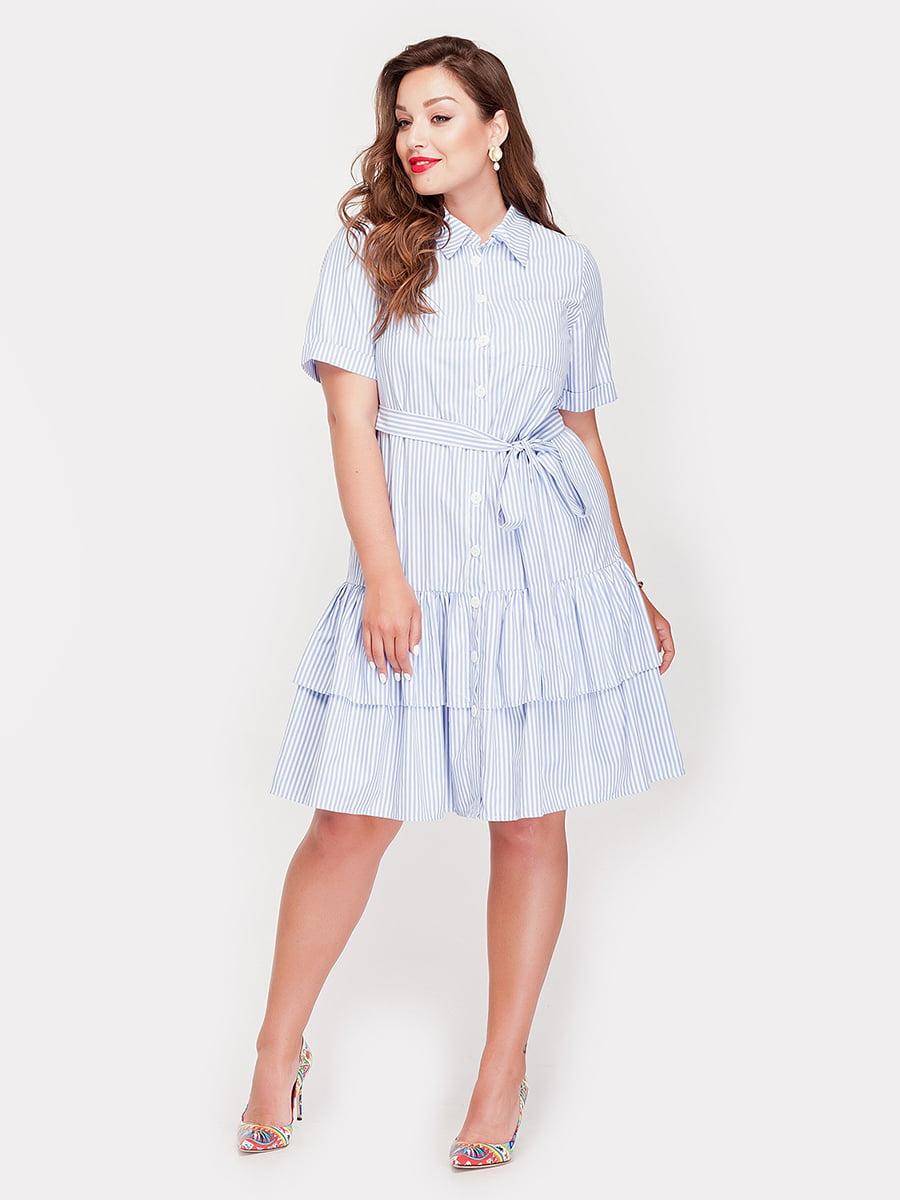 Платье в полоску | 5168648