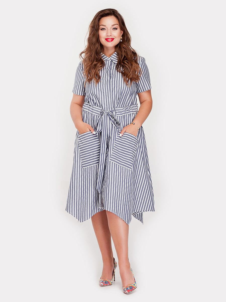 Платье в полоску   5168651