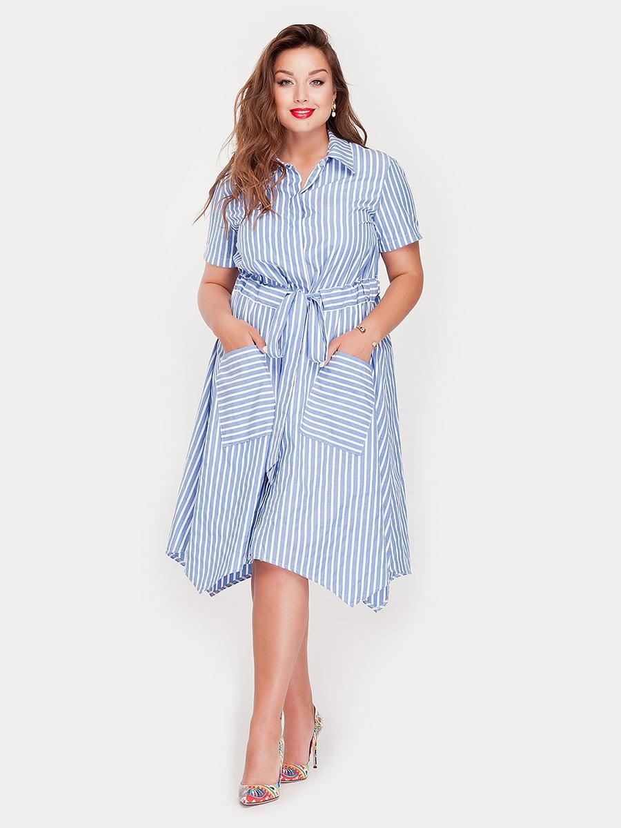 Платье в полоску | 5168652