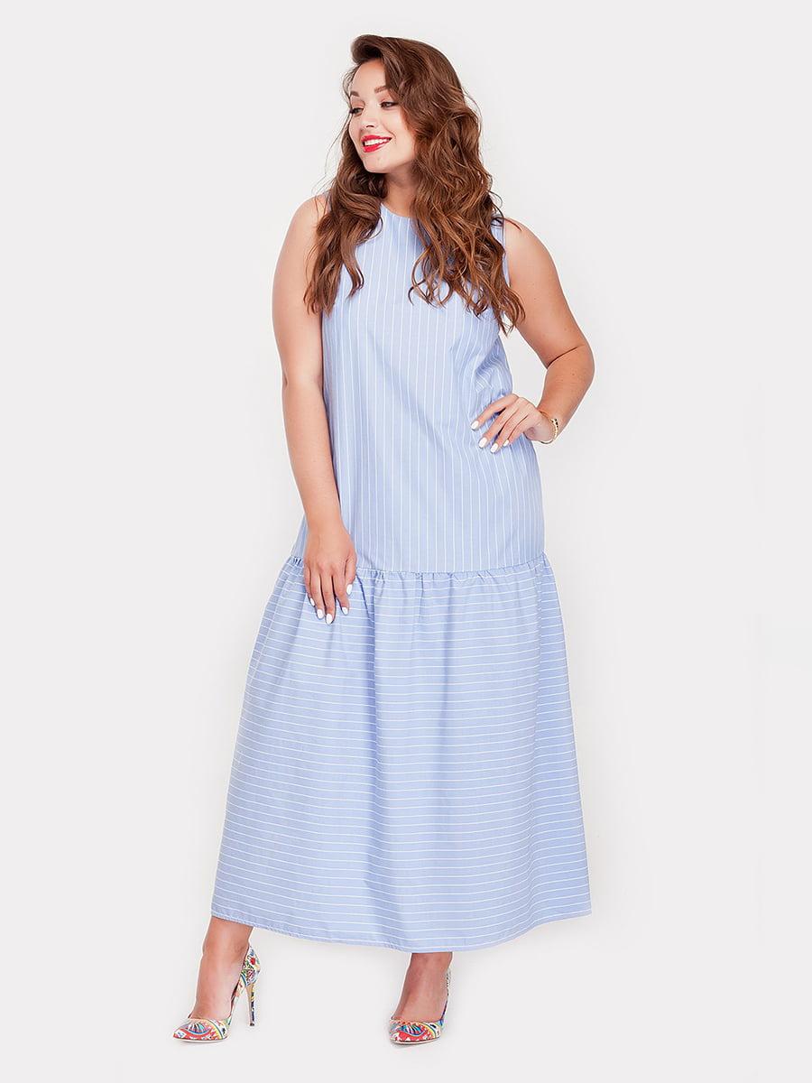 Платье в полоску   5168654