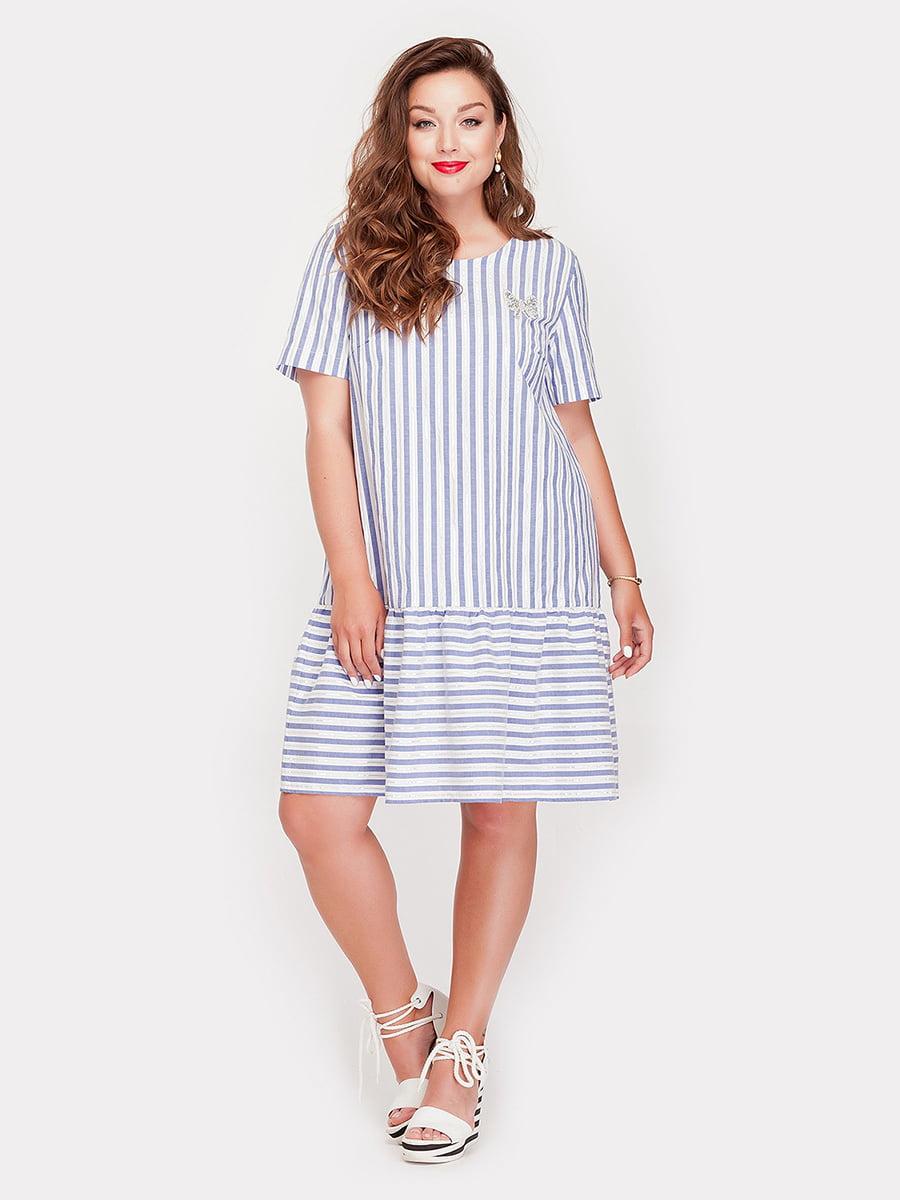 Платье в полоску   5168657