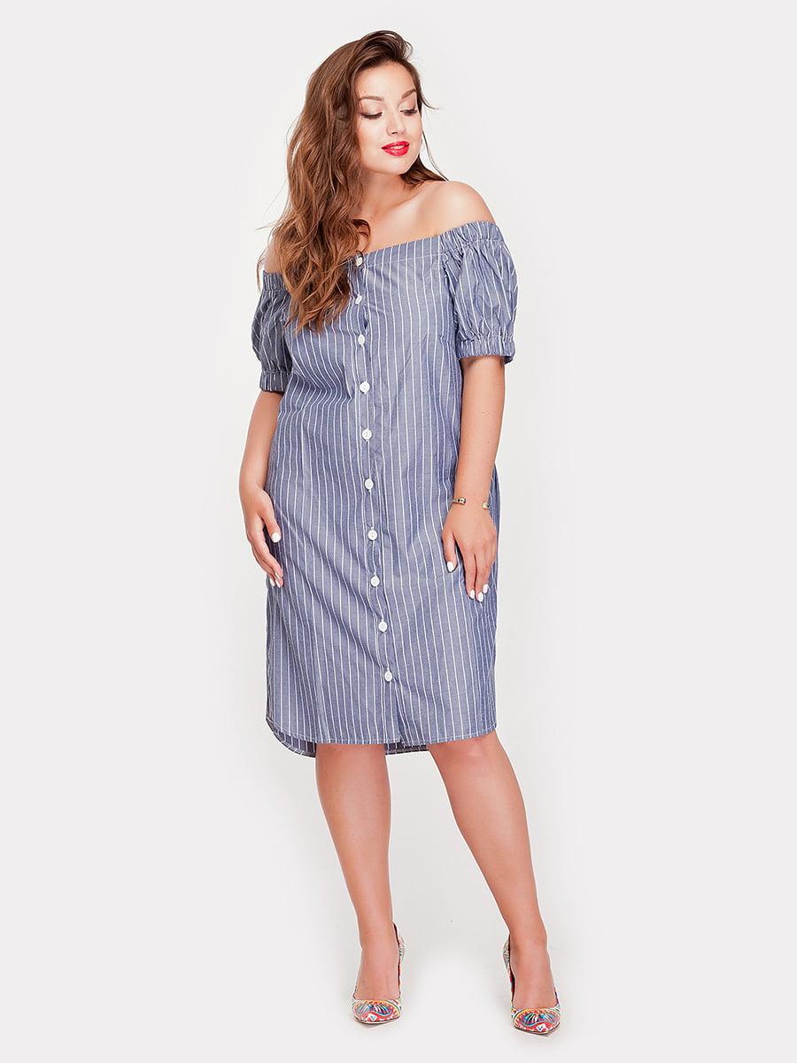 Платье в полоску | 5168660