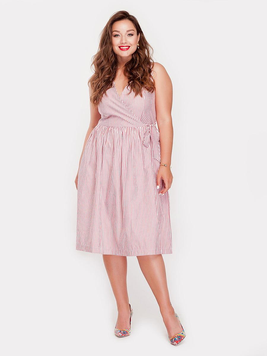 Платье в полоску | 5168673
