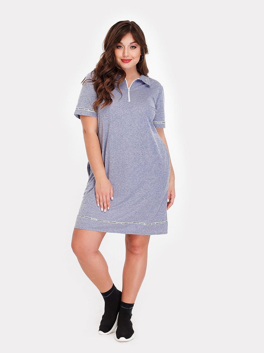 Платье голубое | 5168693