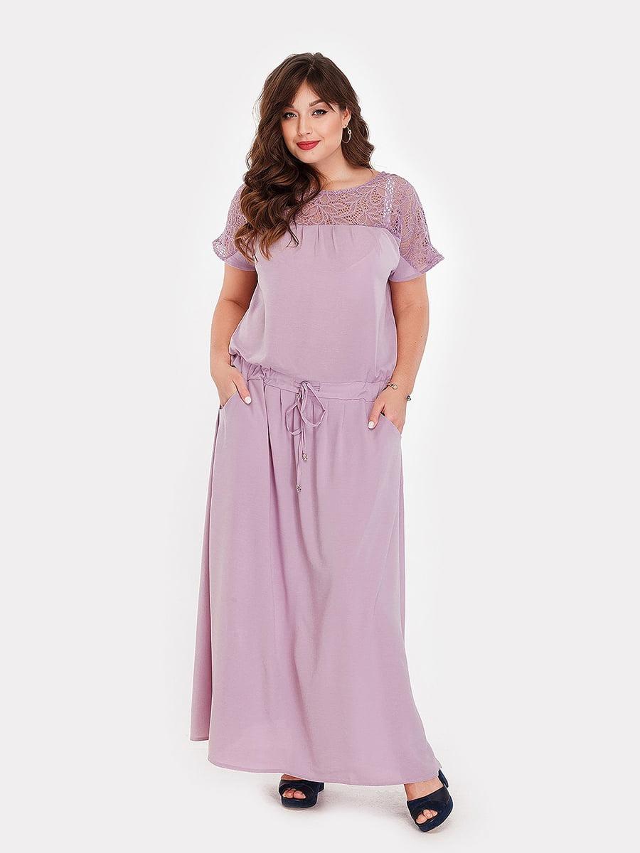 Платье сиреневое | 5168698