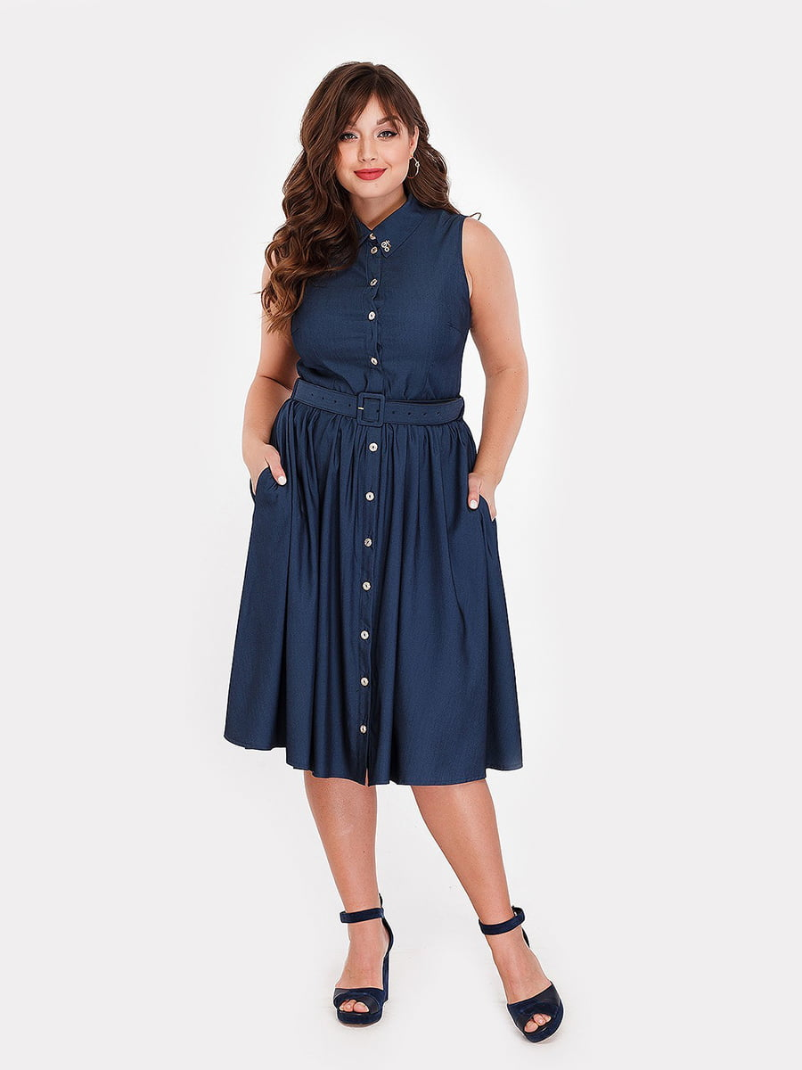 Платье темно-синее | 5168700