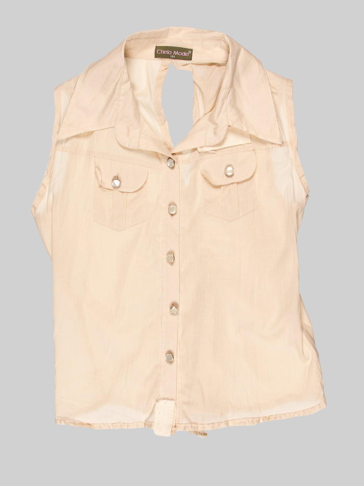 Блуза бежева   3168538