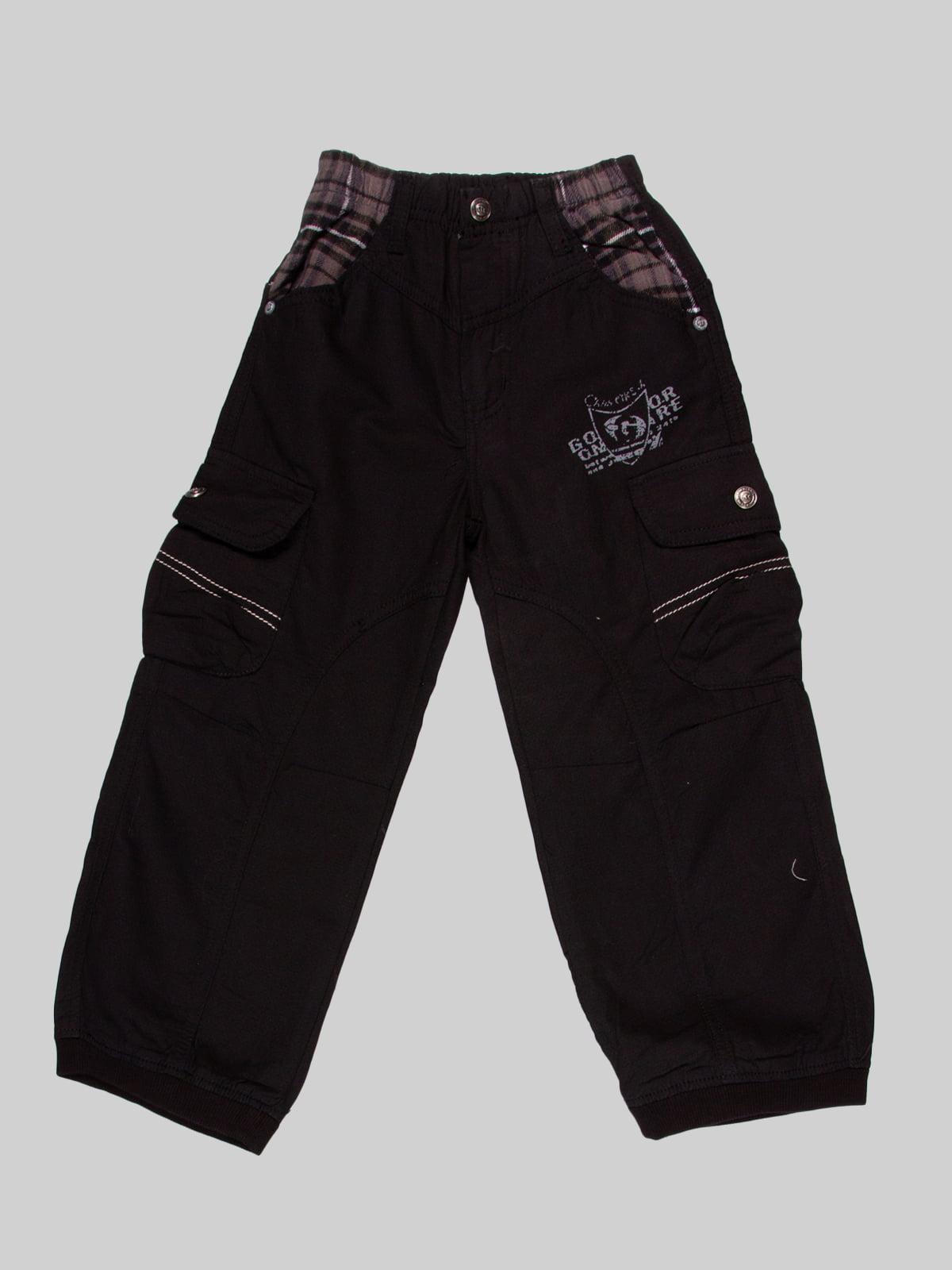 Штани чорні | 2913341