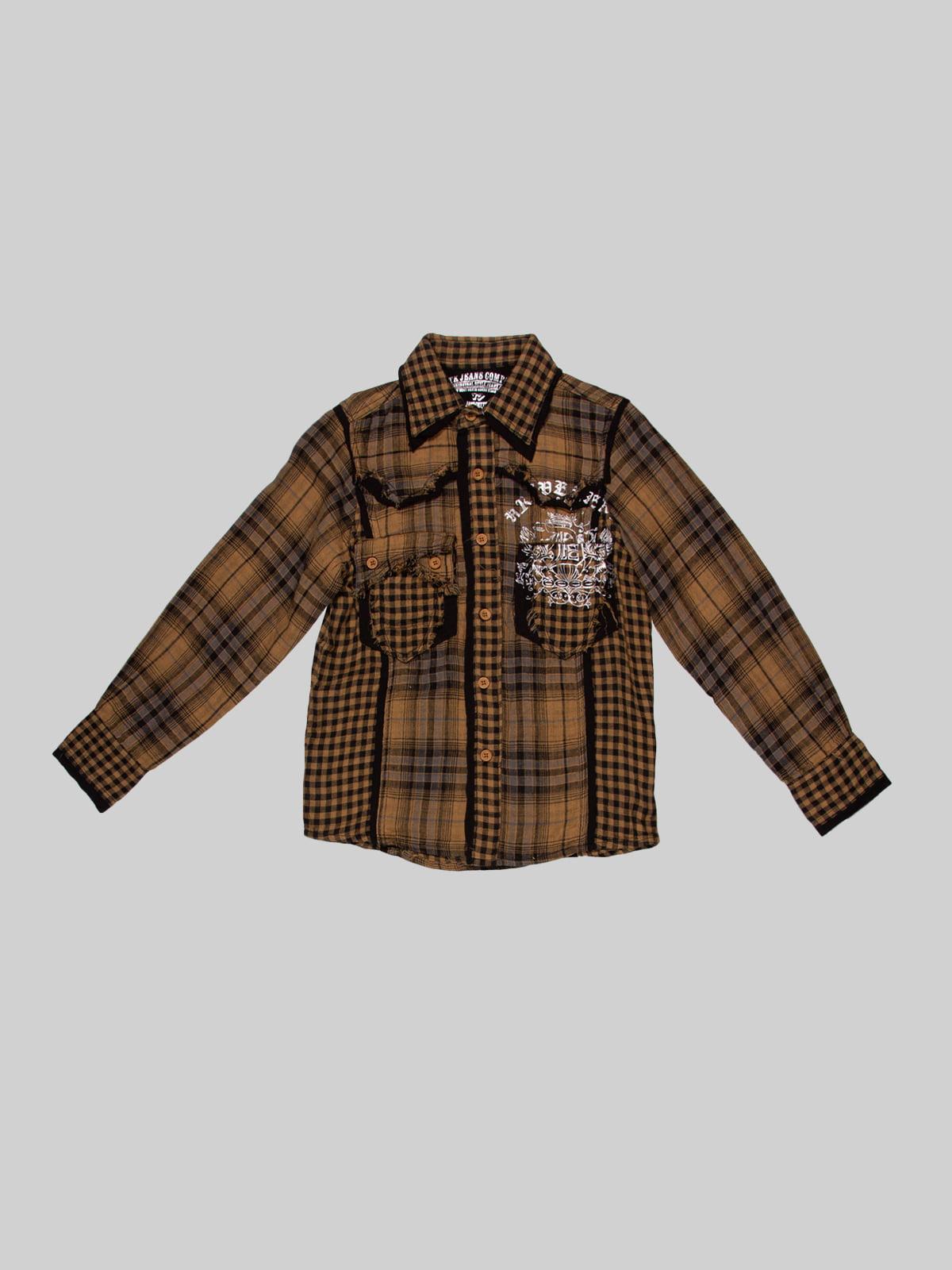 Рубашка в клетку | 2913638